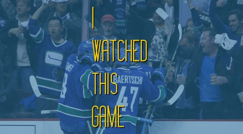 I Watched This Game: Canucks comeback runs out of time against Capitals