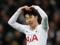 Tottenham Hotspur forward Son Heung-min's record vs. Leicester City