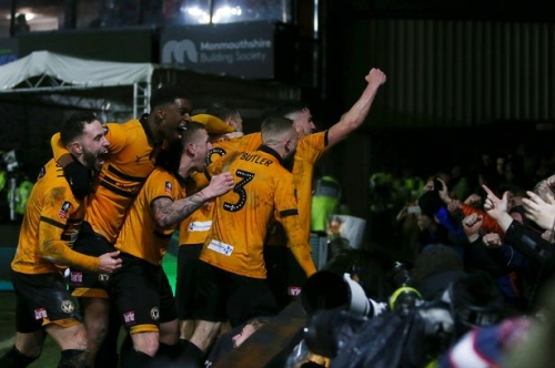How Newport County became the FA Cup's favourite giant-killing story and earned enormous Man City tie