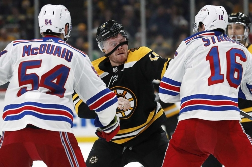PREVIEW: Bruins head to NYC for second of back-to-back against the Rangers