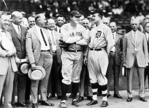 Happy 124th birthday, Babe! Ruth had an epic time in Detroit