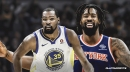 Rumor: Knicks could keep DeAndre Jordan to make pitch to Warriors' Kevin Durant in the summer