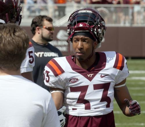 Virginia Tech running back Deshawn McClease staying in Blacksburg