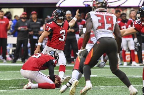 NFL Free Agency: Falcons cut all time great kicker who could immediately come here and miss a lot of kicks