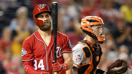 Kurtenbach: There's something fishy about the Giants' interest in Bryce Harper