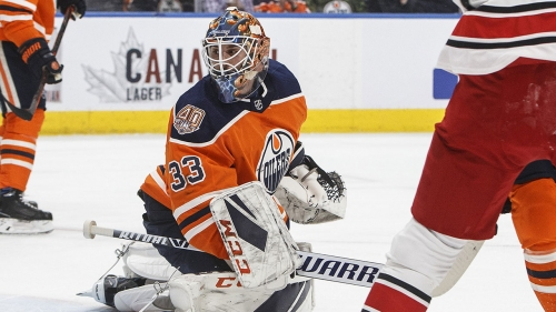 Talbot's frustration boiling over as tumultuous Oilers campaign continues