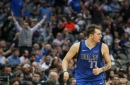 Luka Doncic's triple-double pushes Mavs past Hornets while front office deals Harrison Barnes