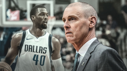 Mavs coach Rick Carlisle reacts to Harrison Barnes being traded to Kings