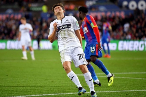 Swansea City boss Graham Potter confirms contract talks with Leeds United target Daniel James and two others