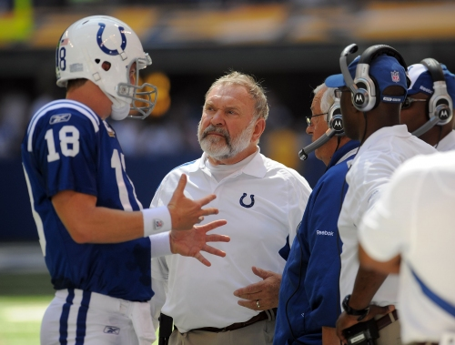 Colts bring back legendary coach Howard Mudd to help offensive line