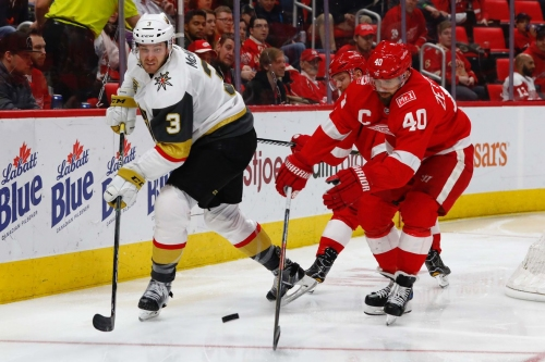 Gameday: Golden Knights look to keep momentum going against Red Wings