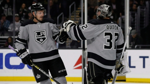 Kings' Dion Phaneuf to be healthy scratch vs. Flyers