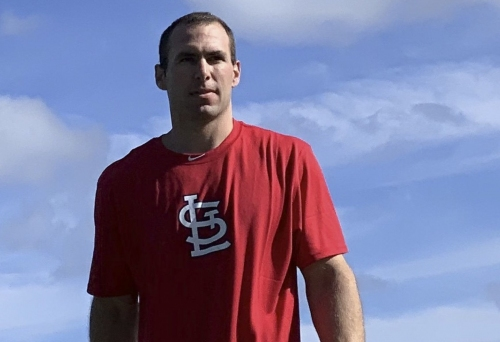 Goldschmidt, clad in Cardinals red, and Ozuna join early 'Birds already in Jupiter