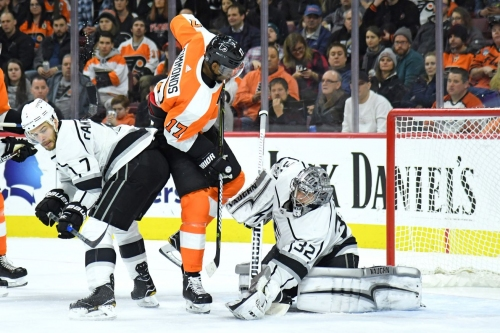 Flyers look for a royally sweet ninth win in a row over Kings