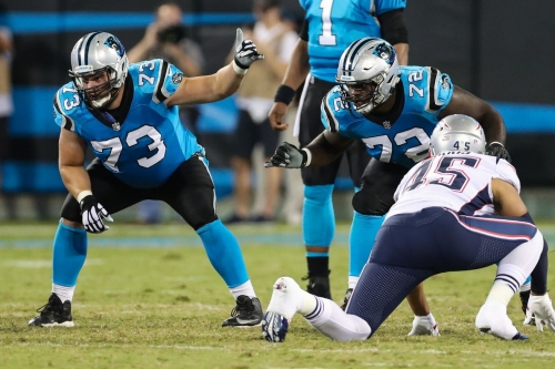 What are the odds the Panthers land a late-round sleeper at offensive tackle?