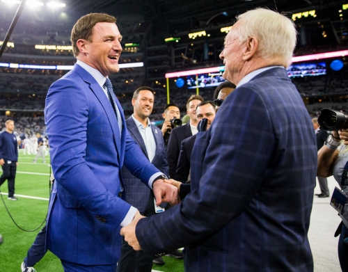 Where does soon-to-be Hall of Famer Gil Brant rank Jason Witten on his all-time tight ends list?