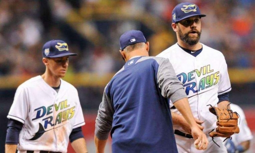 Rays going old school with Devil Rays uniforms for four games this season