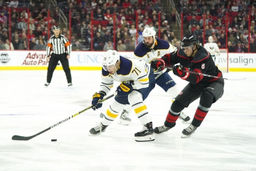 Game Thread: Hurricanes at Sabres, Game 53