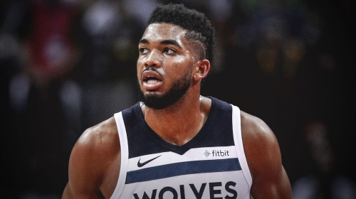 Timberwolves center Karl-Anthony Towns set to start 300th consecutive game to begin his career
