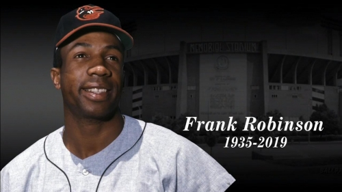 Capitals hold moment of silence for MLB great Frank Robinson