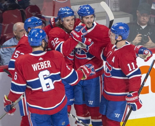 Drouin's 1st 4-point game powers Canadiens to win over Jets