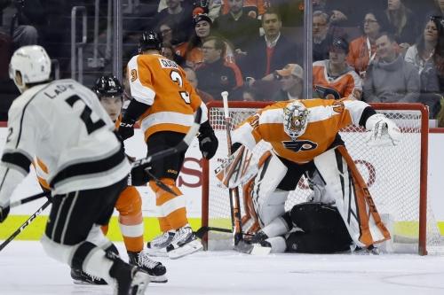 Tyler Toffoli scores clincher in shootout as Kings end Philadelphia Flyers' eight-game win streak