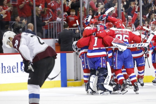 Colorado Avalanche fall 4-3 in entertaining comeback overtime loss to the Washington Capitals