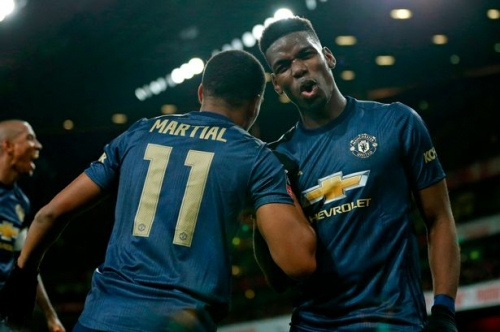 Anthony Martial reveals what Paul Pogba does in Manchester United dressing room to motivate teammates