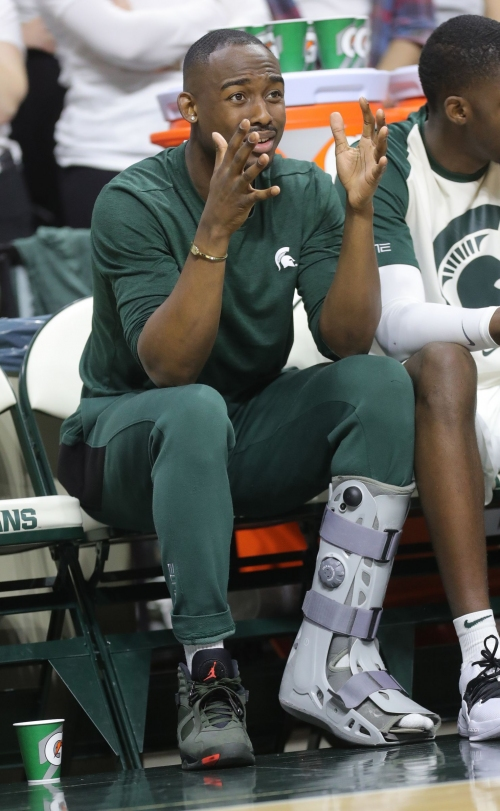 Michigan State basketball's Joshua Langford has foot surgery, will miss 4-7 months