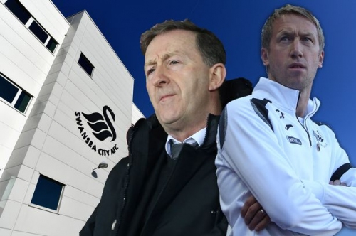 What Huw Jenkins' departure means for Graham Potter and his backroom team at Swansea City