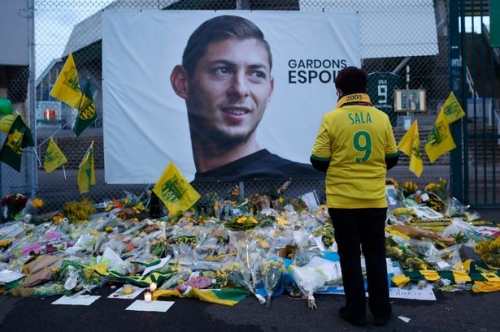 Nantes' incredible gesture to Emiliano Sala as Cardiff City striker confirmed dead in plane wreckage