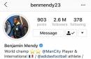 Man City defender Benjamin Mendy responds to Pep Guardiola with Instagram Live