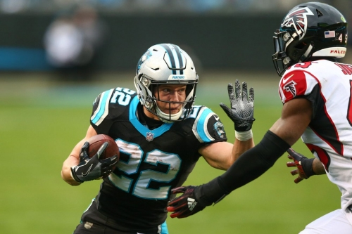 Christian McCaffrey listed at No. 38 on PFF's Top 101 list