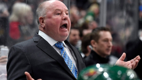 Bruce Boudreau says some Wild players are 'a shell' of themselves