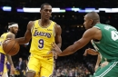 Celtics fall to Rajon Rondo and the Lakers, Eastern Conference loads up at trade deadline - Garden Report Podcast