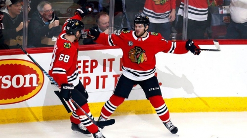 Are the Blackhawks back in business?