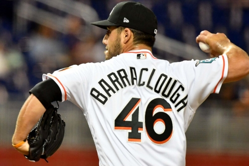 Washington Nationals win arbitration case vs. Kyle Barraclough, who gets $1.725M for 2018...