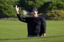 Tony Romo's latest display of wonder: The perfect golf shot from a hospitality tent at Pebble Beach Pro-Am