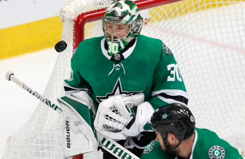 Stars goaltender Ben Bishop placed on injured reserve, eligible to play again in Florida