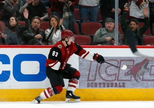 Who will be the first Coyotes player to 12 goals? Players, fans give their votes