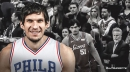 Video: Sixers' Boban Marjanovic gets a standing ovation from Philly crowd
