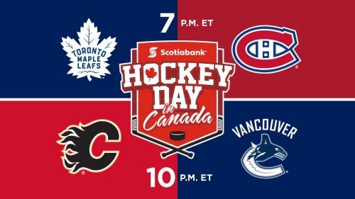 Hockey Day in Canada: Free live streams on desktop & app