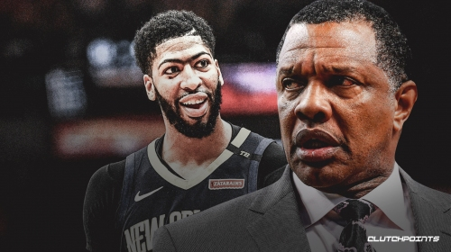 Alvin Gentry doesn't condone home fans booing Anthony Davis