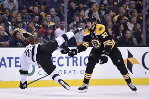 Projected lines: LA Kings at Boston Bruins