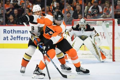 Flyers look to extend point streak in Saturday matinee vs. Ducks