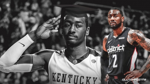 John Wall set to finish college while recovering from Achilles injury