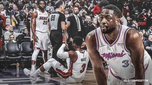 Heat star Dwyane Wade finds the lighter side of his scary fall vs. Kings
