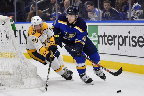 Nashville Predators @ St. Louis Blues: Scratching and Clawing