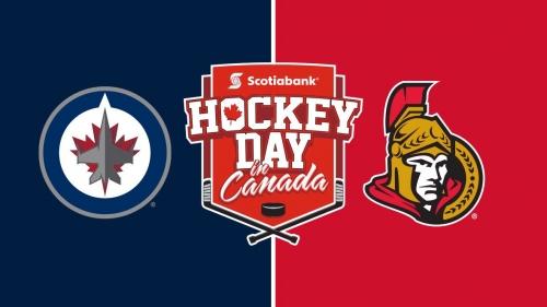 Hockey Day in Canada: Jets vs. Senators