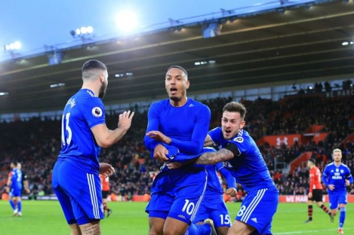 'He's back!' Cardiff City fans go crazy for Kenneth Zohore after stunning late winner at Southampton